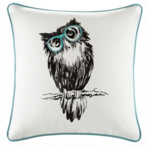HipStyle Owlfred Owl Throw Pillow