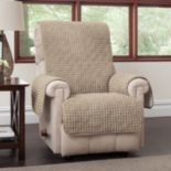 Jeffrey Home Puff Recliner Wing Chair Protector
