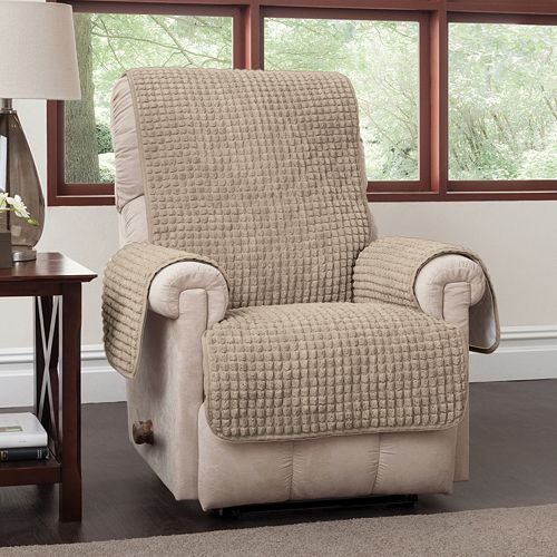 Jeffrey Home Puff Recliner Wing Chair Protector d83b4bf47