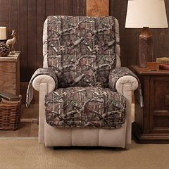 Jeffrey Home Mossy Oak Break-Up Infinity Recliner Wing Chair Protector