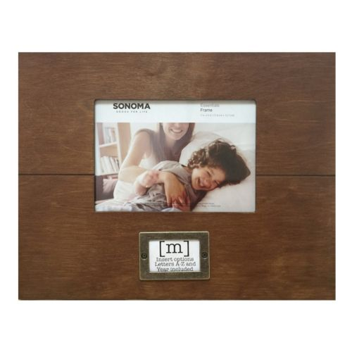 "SONOMA Goods for Life™ 5"" x 7"" Monogram Frame"