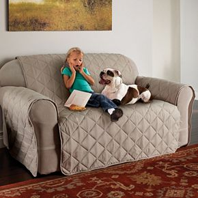 Jeffrey Home Microfiber Ultimate Sofa Protector