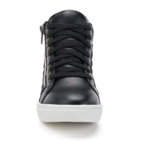 Candie's® Girls' Quilted High-Top Sneakers