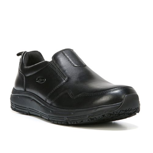 Scholl's Beta Men's Slip-On Wide Work Shoes