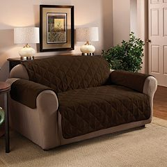 Innovative Textile Solutions Suede Loveseat Protector