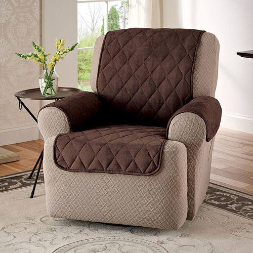 Innovative Textile Solutions Suede Recliner Wing Chair Protector