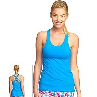 Women's Colosseum Botanical Scoopneck Tennis Tank