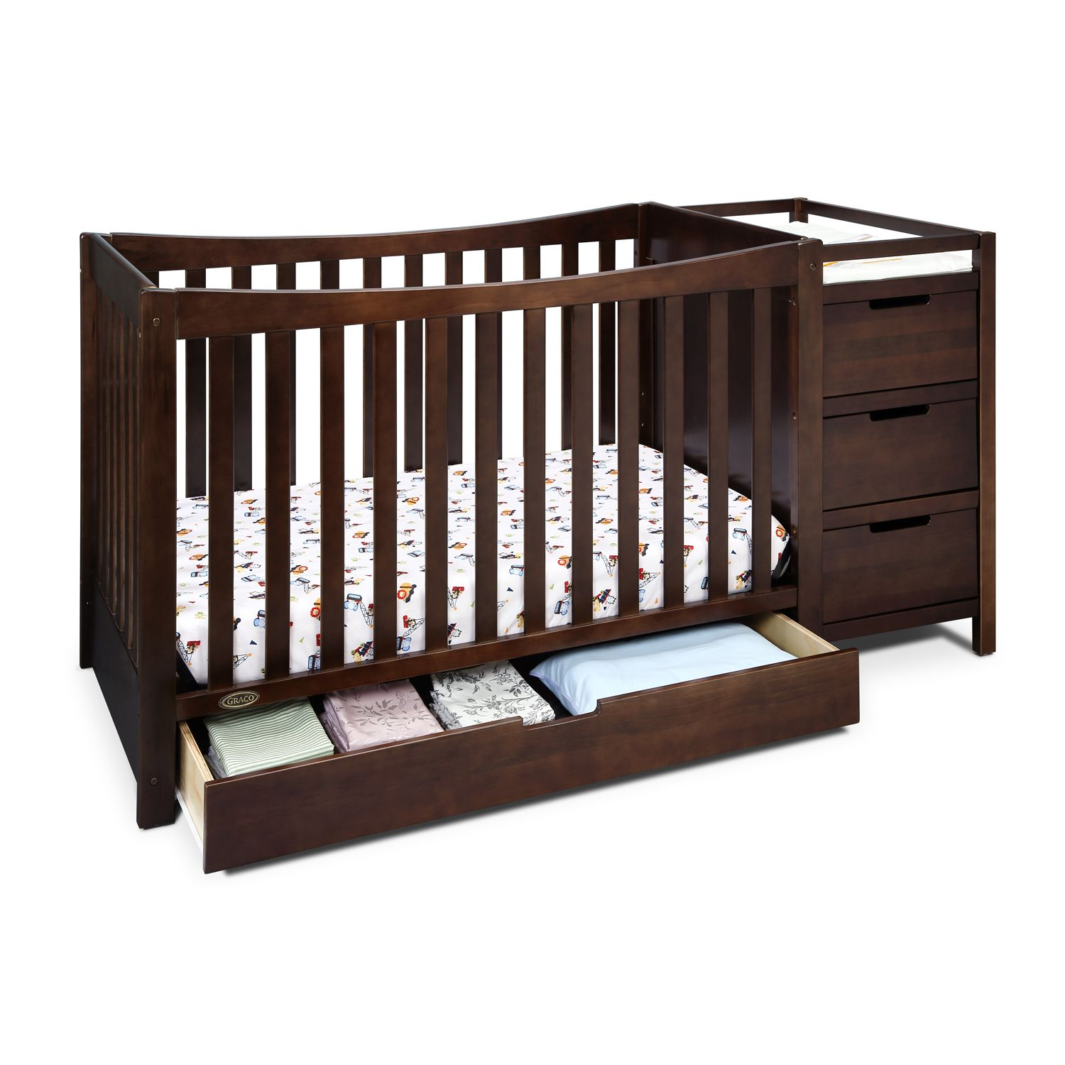 graco remi 4in1 convertible crib u0026 changer