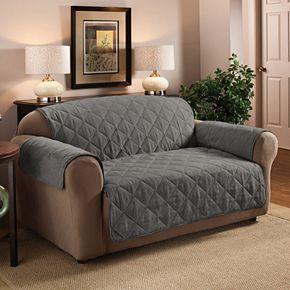 Jeffrey Home Suede Sofa Protector