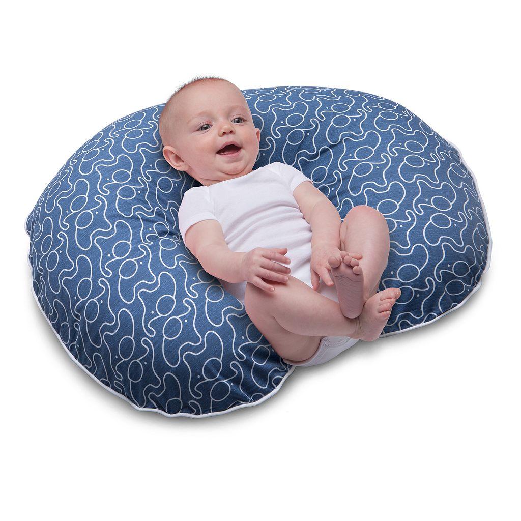 Boppy Two-Sided Printed Microfiber Nursing & Support Pillow Slipcover