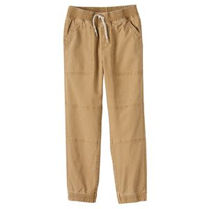 Boys 4-7x SONOMA Goods for Life™ Stretch Twill Jogger Pants