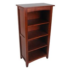 Alaterre Shaker Warm Cottage Tall Bookcase