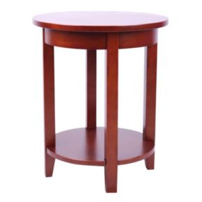 Alaterre Shaker Cottage Round Accent Table