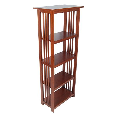 Alaterre Mission Tall Bookcase