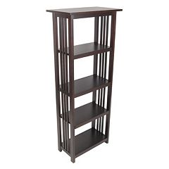 Alaterre Mission Tall Bookcase by