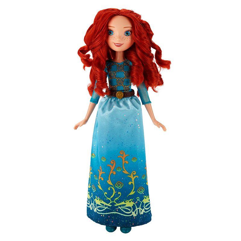Disney Princess Royal Shimmer Merida Doll, Multicolor