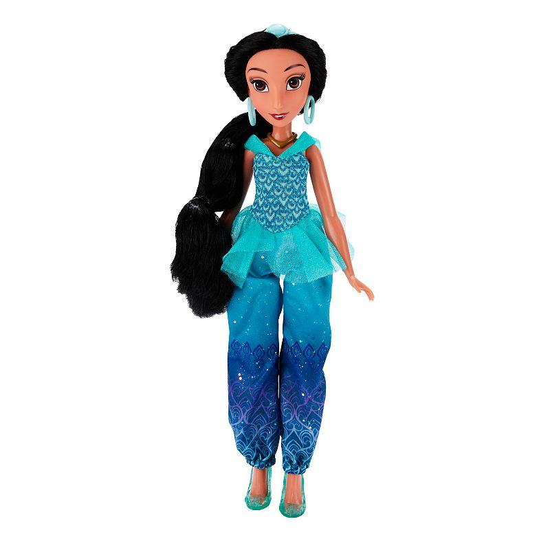 Disney Princess Royal Shimmer Jasmine Doll, Multicolor