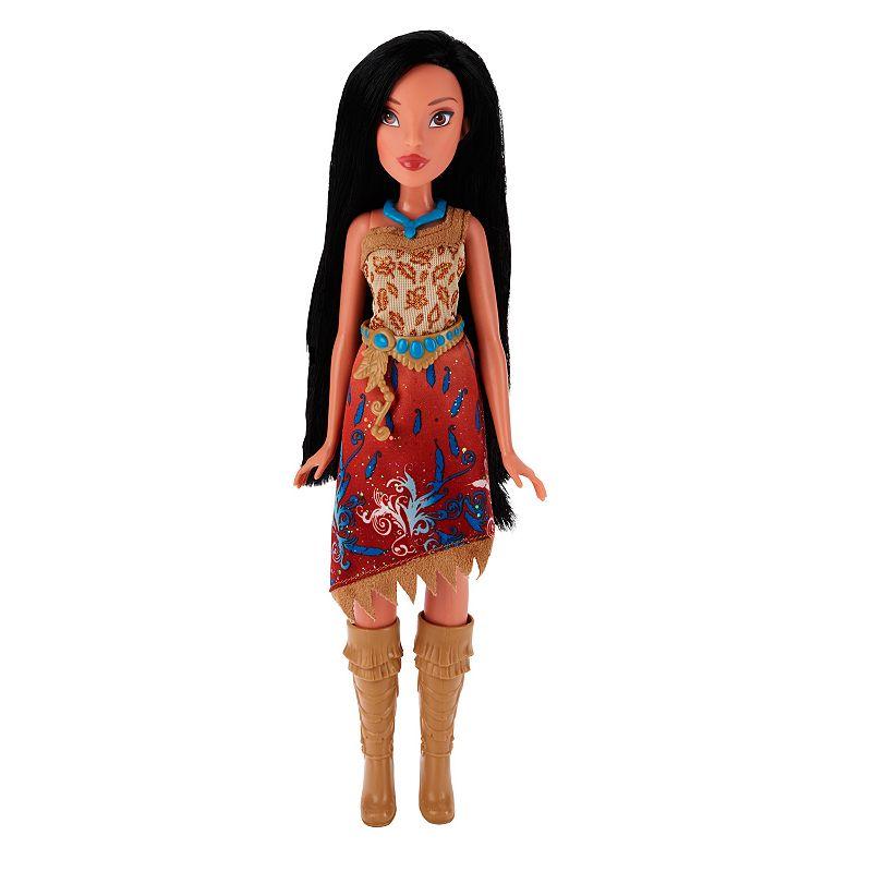 Disney Princess Royal Shimmer Pocahontas Doll, Multicolor