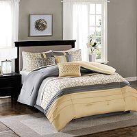 Madison Park Jeffrey 7-piece Comforter Set