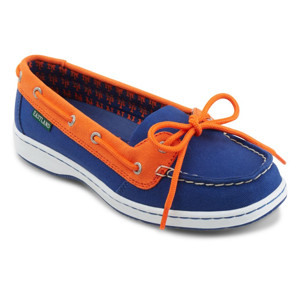 Women's Eastland New York Mets ... Sunset Boat Shoes