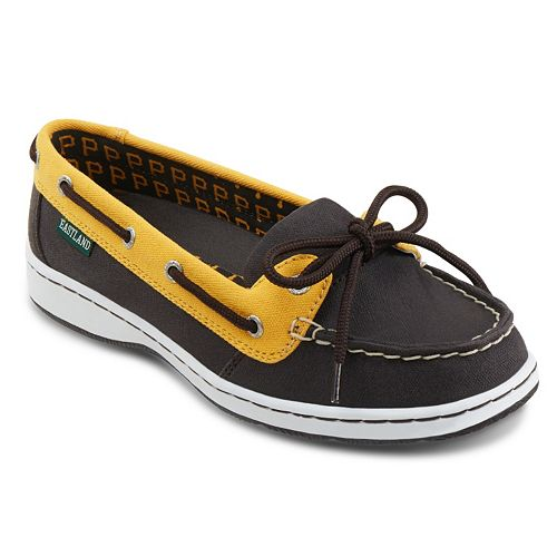 Women's Eastland Pittsburgh Pirates Sunset Boat Shoes