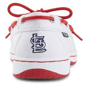 Women's Eastland St. Louis Cardinals Sunset Boat Shoes