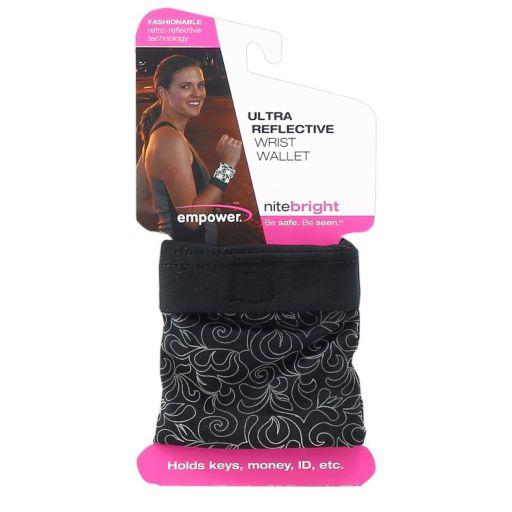 Empower NiteBright Ultra Reflective Wrist Wallet