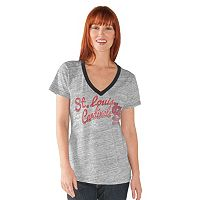 Women's St. Louis Cardinals Ace V-Neck Tee