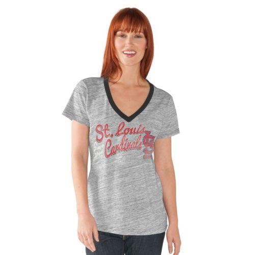 Women's St. Louis Cardinals Ace V-Neck Tee