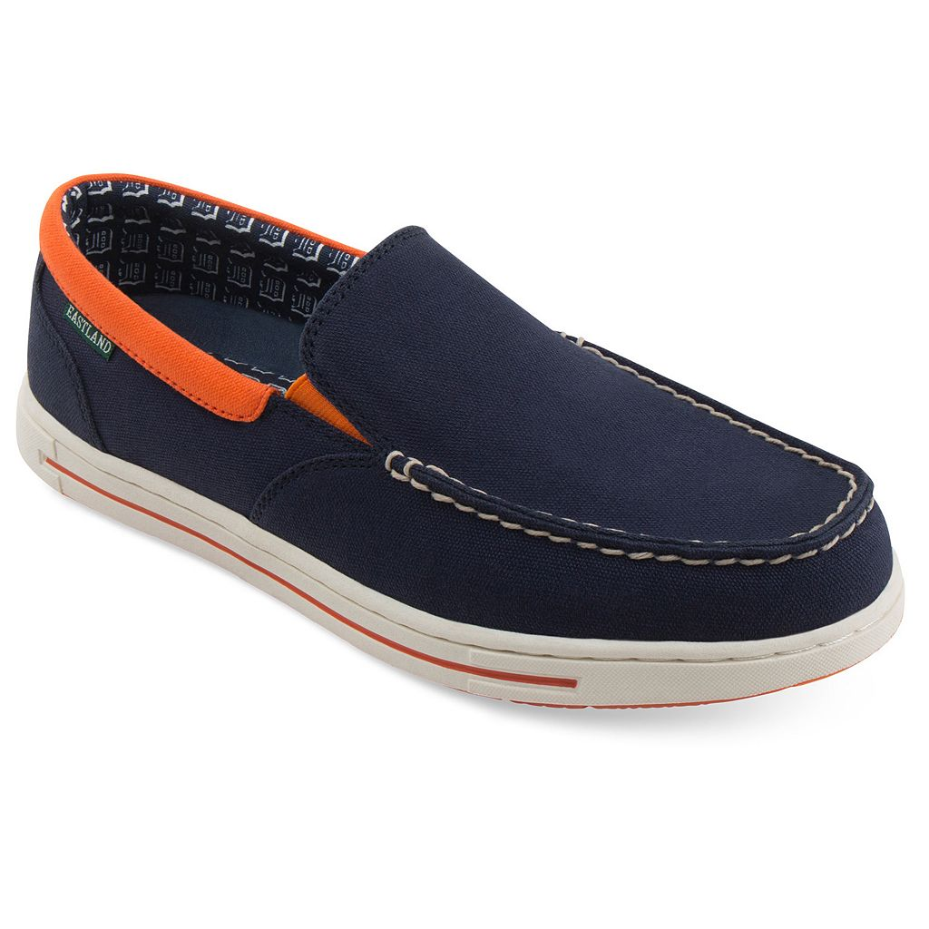 Men's Eastland Detroit Tigers Surf Slip-On Shoes