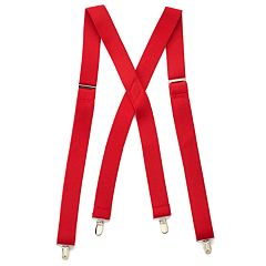 Men's Wembley Solid Stretch Suspenders