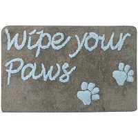 PB Paws ''Wipe Your Paws'' Bath Mat - 20'' x 30''