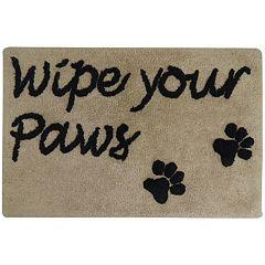 PB Paws ''Wipe Your Paws'' Bath Mat - 20'' x 30''
