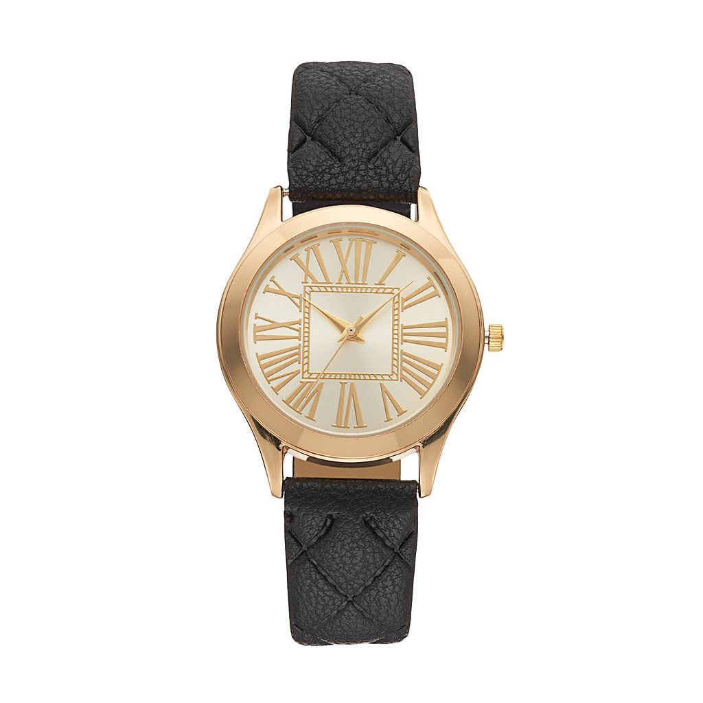 Women's Quilted Watch