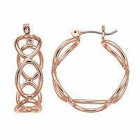 Apt. 9® Nickel Free Infinity Hoop Earrings