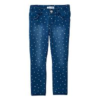 Toddler Girl Jumping Beans® Polka-Dot Printed Jeggings
