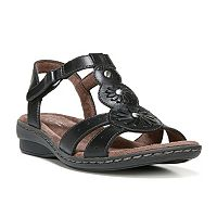 NaturalSoul by naturalizer Barroll Women's Leather Sandals