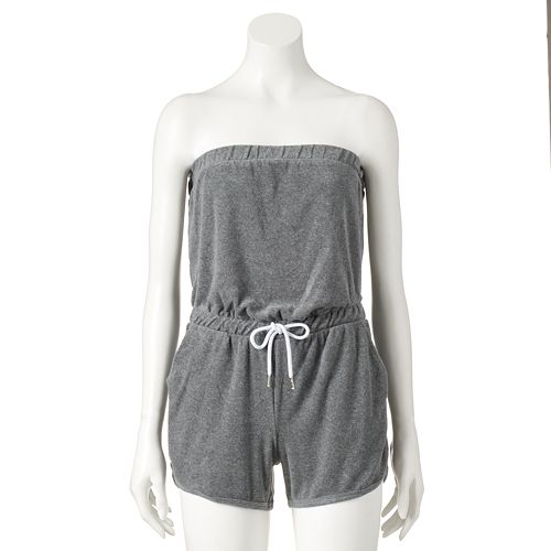 fd46793123 Women s Juicy Couture Terry Strapless Romper