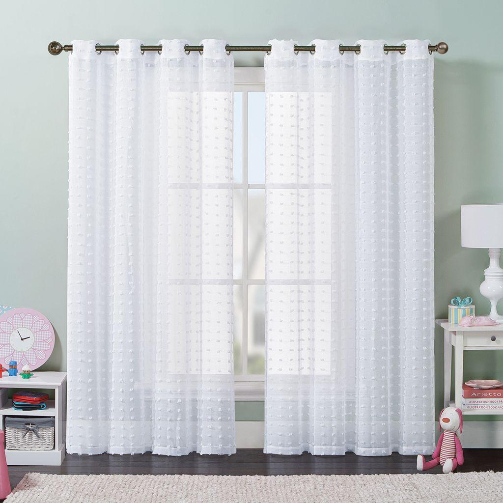 VCNY Elsa Window Curtain - 55'' x 84''