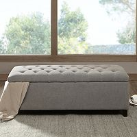 Madison Park Shandra Storage Bench