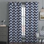 Avondale 2-pack Manor Blackout Chevron Window Curtains - 38'' x 84''