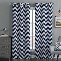 Avondale Manor 2-pack Blackout Chevron Curtains - 38'' x 84''