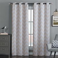 Avondale 2-pack Manor Blackout Chevron Window Curtains - 38'' x 84''