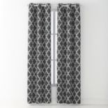 Avondale Manor Madrid Blackout Window Curtain Set