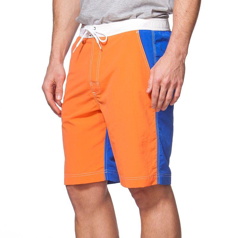 Big & Tall Chaps Colorblock Board Shorts