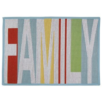 Park B. Smith ''Family'' Tapestry Rug - 19'' x 27''