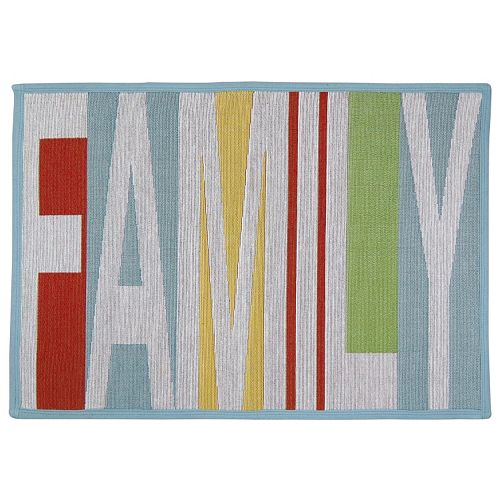 Park B. Smith ''Family'' Tapestry Rug - 19'' x 27''
