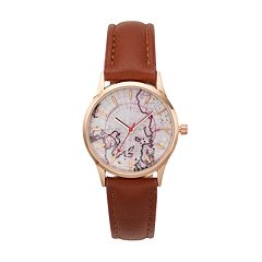 Women's World Map Watch