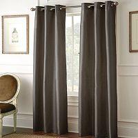 Pacific Coast Textiles 2-pack Shawn Blackout Window Curtains - 37'' x 84''
