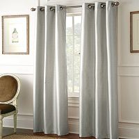 Pacific Coast Textiles Shawn Blackout Window Curtain Set - 37'' x 84''